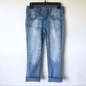 NWOT American Eagle Artist Crop Jeans